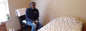 Veteran in veteran Housing