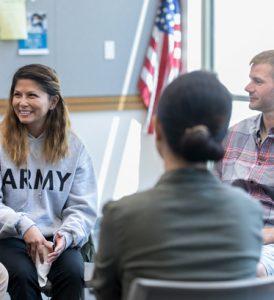 Veterans Resource meeting