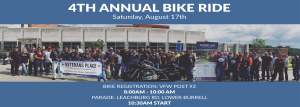 Veterans Place Annual Bike Ride August 17