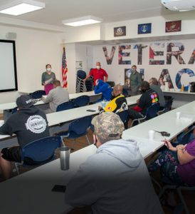 Veterans in Resource Center