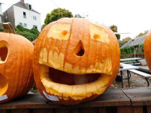 Veteran Carved Pumpkin