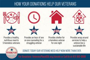 Veterans Place Infographic